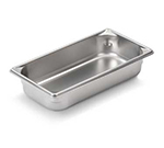 Vollrath 30322 Third-Size Steam Pan, Stainless