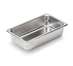 Vollrath 30342 Third-Size Steam Pan, Stainless