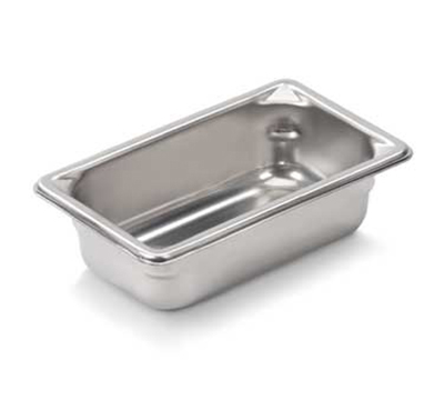 Vollrath 30922 Ninth-Size Steam Pan, Stainless
