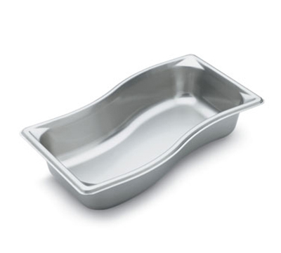 Vollrath 3100321 Third-Size Steam Pan - Wild, Stainless