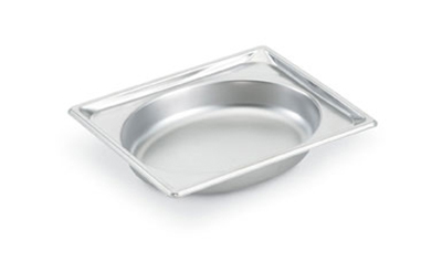 Vollrath 3102040 Half-Size Steam Pan - Oval, Stainless