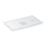 Vollrath 31400 1/4 Size Solid Food Pan Cover - Clear