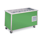 "Vollrath 36146 Refrigerated Cold Food Bar - 3 Full Size Pan 6"" Deep Wells, 30x46x28, Stainless"