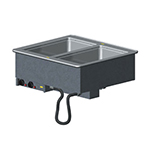 Vollrath 3639951 2-Hot Well Modular Drop-In - Infinite Control, Manifold Drain, 1000W, 120v