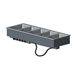 Vollrath 3640801 5-Well Modular Drop-In - Infinite, Standard Drain, 1000W, 208-240v