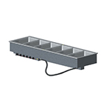 Vollrath 3640961 6-Well Modular Drop-In - Infinite, Manifold Drain, Auto Fill, 1000W
