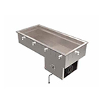 """Vollrath 36456 18"""" Drop-In Refrigerator w/ (1) Pan Capacity, Cold Wall Cooled, 120v"""
