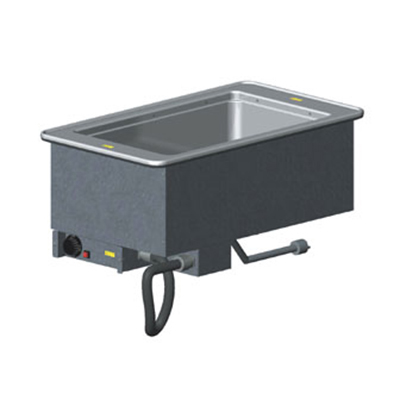 Vollrath 36467 1-Well Modular Drop-In - Infinite Control, Standard Drain, 625W 208v