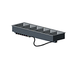 Vollrath 36476 6-Well Modular Drop-In - Infinite Control, Standard Drain, 625W 240v