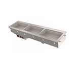 Vollrath 36641 2-Well Short-Sided Drop-In - Infinite Control, Standard Drain, 625W 120v