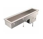 "Vollrath 36652 46"" Drop-In Refrigerator w/ (2) Pan Capacity, Cold Wall Cooled, 120v"