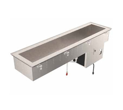 "Vollrath 36659 89"" Drop-In Refrigerator w/ (4) Pan Capacity, Cold Wall Cooled, 120v"