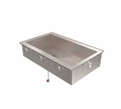"Vollrath 36660 89"" Drop-In Cold Well w/ (4) Pan Capacity, Ice Cooled"