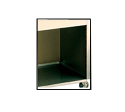 Vollrath 36981 Storage Bag-in-a-Box Shelf - Stainless