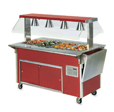 "Vollrath 3752250-2-O 46"" Operator Side Tray Slide - Lift-Off Bracket, 12"" Overall Width"