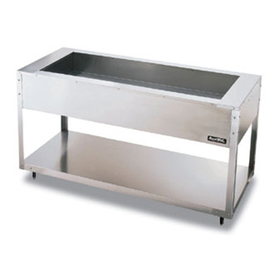 Vollrath 38013 3-Well Cold Food Table - Non-Refrigerated, 47-1/2x27x34