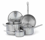 Vollrath 3820 Optio Deluxe Cookware Set - (6) Piece, Induction Ready, Stainless
