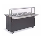 "Vollrath 39946 46"" Tray Slide - Fold-Down Mounting, Stainless"