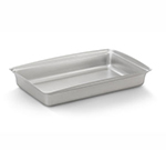 """Vollrath 40006 Steam Table Pan - 11-1/2x19x3-1/8"""" Brushed Stainless"""