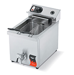 Vollrath 40709 Countertop Electric Fryer - (1) 15-lb Vat, 22