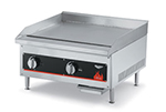 "Vollrath 40722 24"" Flat Top Griddle - LP Conversion Kit, Thermostat, Stainless, 56,000 BTU, NG"