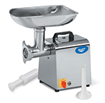 Vollrath 40743 Bench Style Meat Grinder - 264-lb Capacity, #12 Hub, Stainless 110v