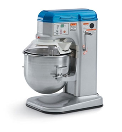 Vollrath 40756 10-qt Countertop Mixer with Guard - 5-Speed, Digital, 1/3HP 110v