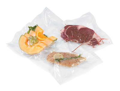 "Vollrath 40815 Vacuum Sealer Bag - 8x12"", 3.0 Thickness, Pack of 100"