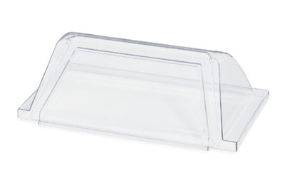 Vollrath 40824 Sneeze Guard for 7-Roller Hot Dog Grill