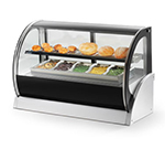 "Vollrath 40853 48"" Full Service Deli Case w/ Curved Glass - (2) Levels, 120v"