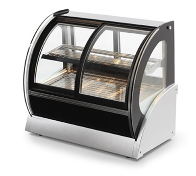 "Vollrath 40880 36"" Full Service Deli Case w/ Curved Glass - (2) Levels, 120v"