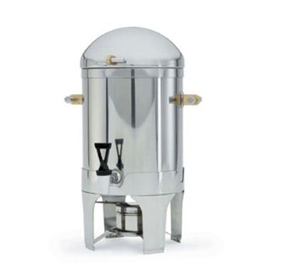 Vollrath 48793 3-Gal Coffee Urn - Dome Cover, Silverplated