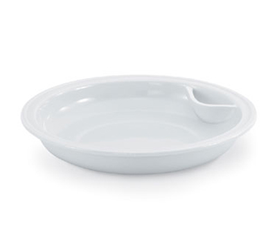 Vollrath 46130 6-qt Replacement Porcelain Food Pan