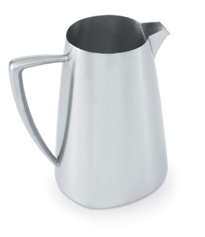 Vollrath 46304 2.3-qt Water Pitcher - Satin-Finish Stainless