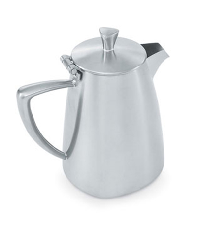 Vollrath 46309 9-oz Creamer with Cover - Satin-Finish Stainless