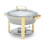 Vollrath 46325 4-qt Round Chafer Food Pan - Mirror-Finish Stainless