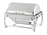 Vollrath 4634010 9-qt Retractable Rectangular Chafer - Mirror-Finish Stainless