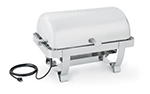 Vollrath 46529 9-qt Roll-Top Rectangular Full-Size Chafer - Mirror-Finish Stainless