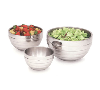 Vollrath 46592 6.9-qt Round Beehive Insulated Bowl - 18-ga Stainless