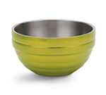 Vollrath 46591-30 3.4-qt Round Insulated Bowl - 18-ga Stainless, Lemon-Lime