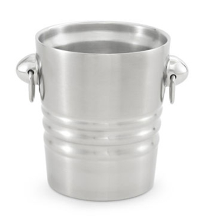 Vollrath 46616 2.1-qt Insulated Wine/Champagne Bucket - Satin-Finish Stainless
