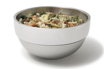 Vollrath 46667 3.4-qt Round Insulated Bowl - Mirror-Finish Stainless