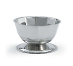 Vollrath 46701 Seafood Supreme Paneled Bowl - Gadroon Base, Stainless