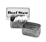 Vollrath 46796 Condiment and Card Holder - Stainless
