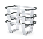 Vollrath 46886 9-qt Rectangular Chafer Stand - Stainless