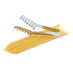 "Vollrath 47105 8"" Spaghetti Tong - Stainless"