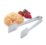"Vollrath 47107 9-1/2"" Pom Tong - Ribbed Grip, Stainless"