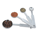 Vollrath 47118 4-Piece Measuring Spoon Set - 18-ga Stainless