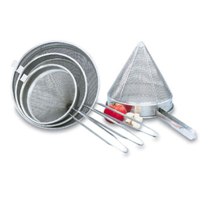 "Vollrath 47167 Fine Mesh China Cap - 9-3/4x10x20"" Stainless"
