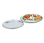 "Vollrath 47214 13-7/8"" Round Serving Tray - Stainless"